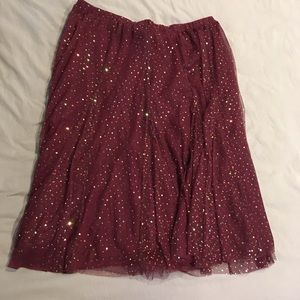 New Cranberry sequent tool skirt